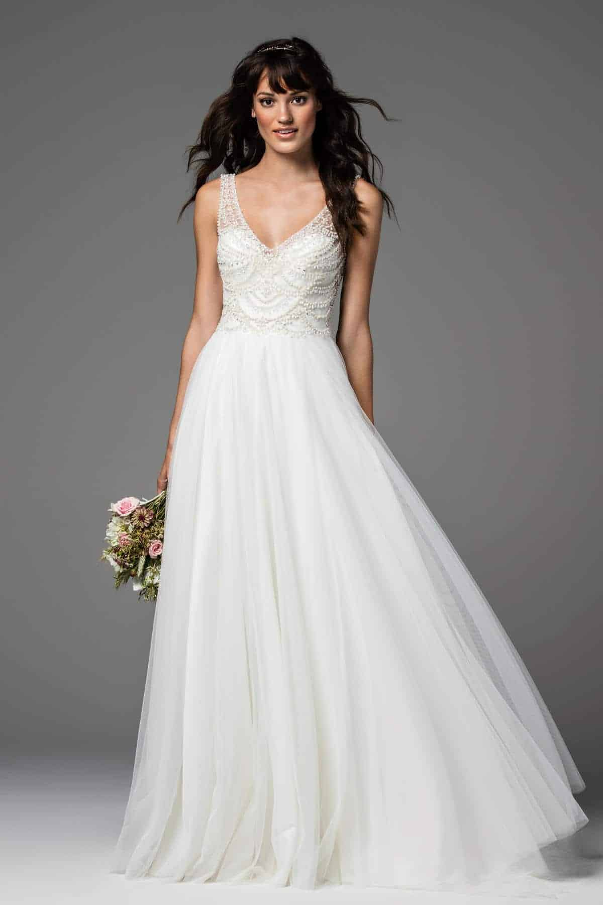 Fantastisch Watters Brautkleid Zeitgenössisch - Hochzeit Kleid Stile ...